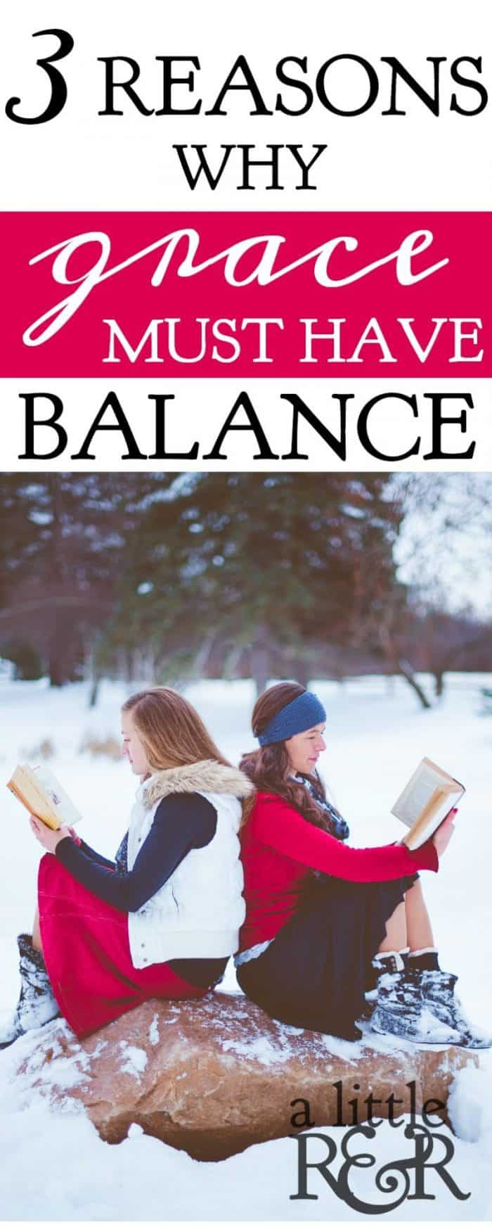 There are 3 things that happen when grace is taught in an out-of-balance way. Here is why grace must have balance in our churches and in our teaching.