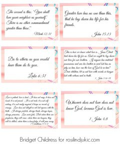 Print out these verses about love to learn, show and apply them in your home this Valentine's Day!