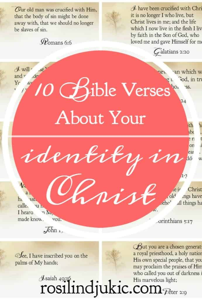 I love these! They are so perfect for my war room!! Here are 10 Bible verses about your identity in Jesus Christ.
