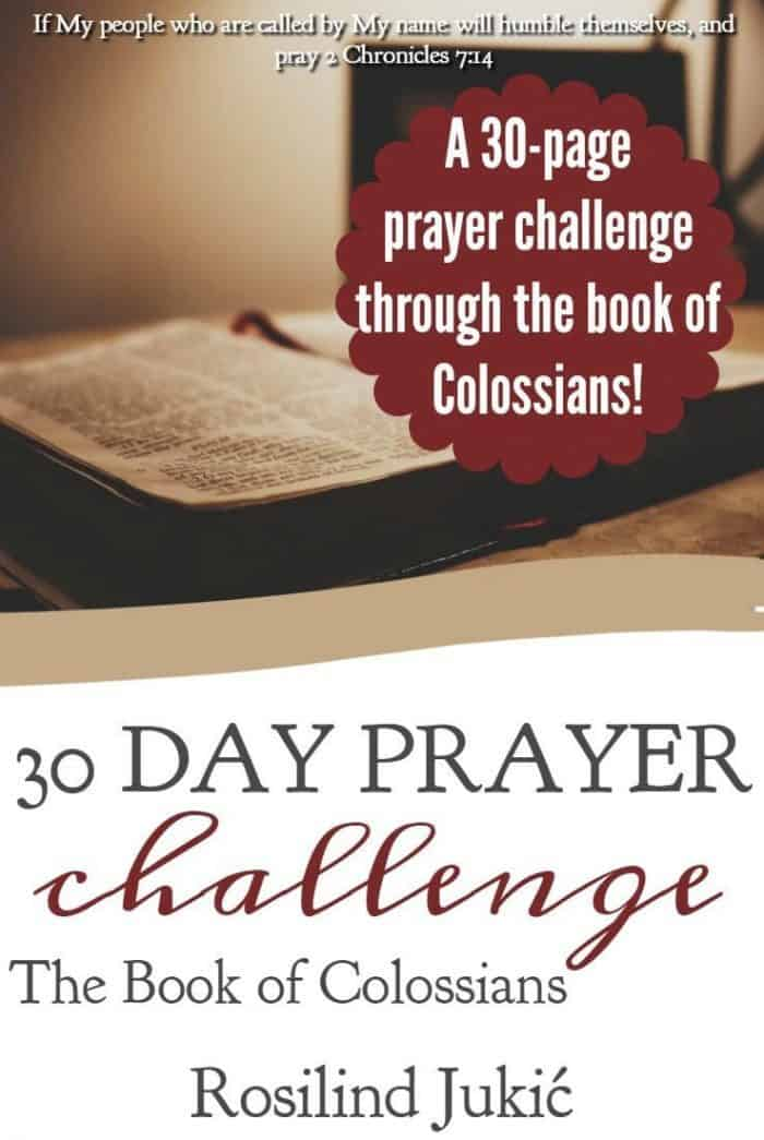 Colossians is one of the best presentations of Christ! Pray through the Book of Colossians with this free 30-page workbook.