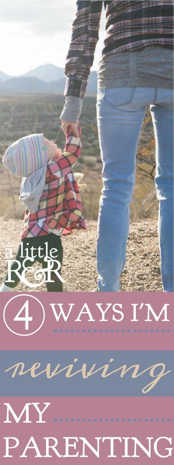 Are we raising godly children, or just good children? Many times I can see I need to refocus my parenting on what is truly important. Here is how I'm reviving my parenting.