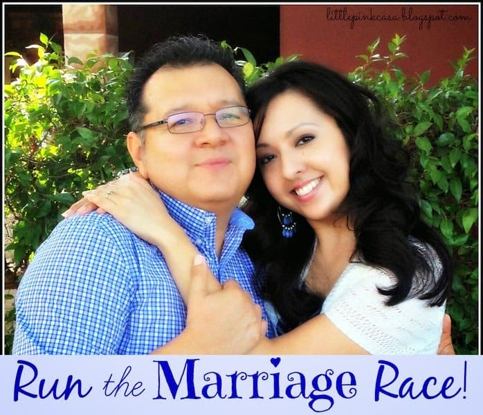 Run the Race in Your Marriage {Don't lag behind}