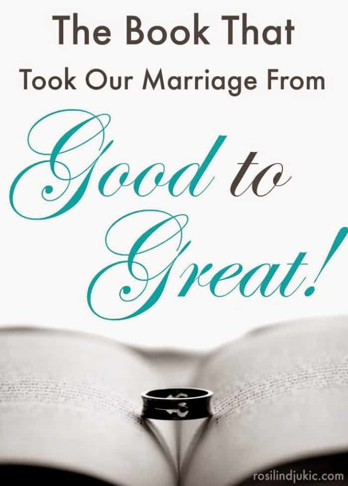 Take your marriage from good to great with this very important book. It is a must-read for every married couple!