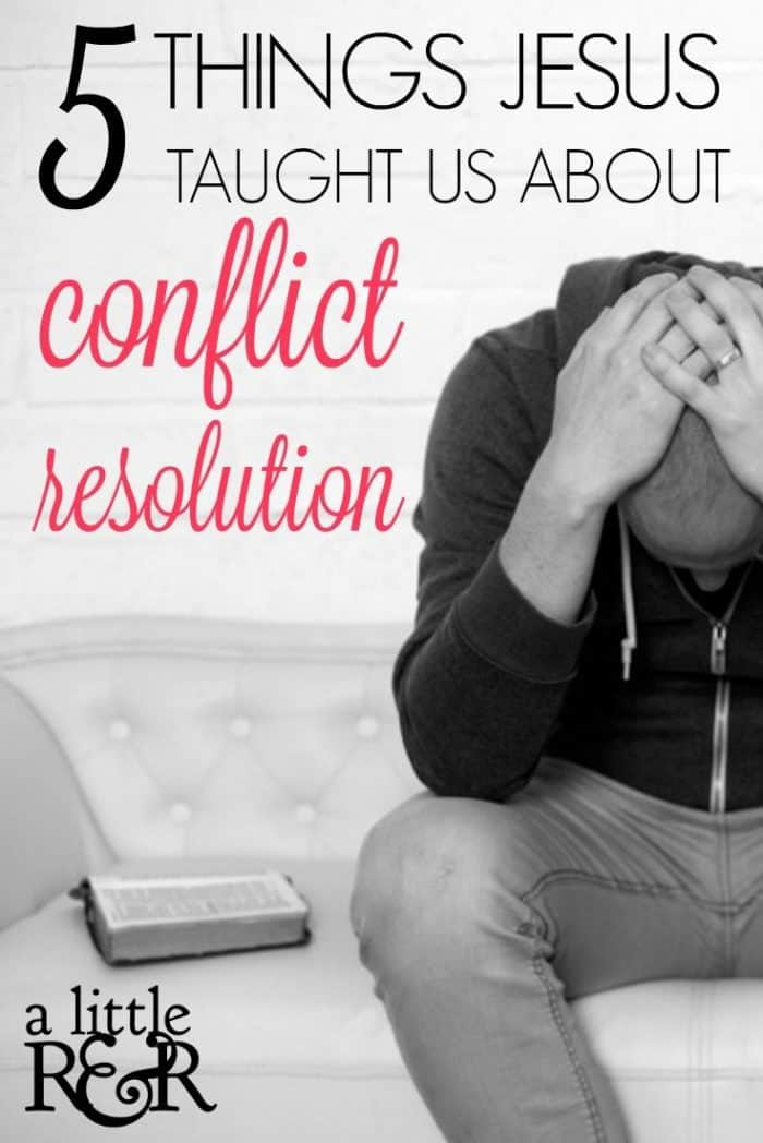 How do we handle conflict resolution in the church? Do we follow the whole process from start to finish? Why is this even important?