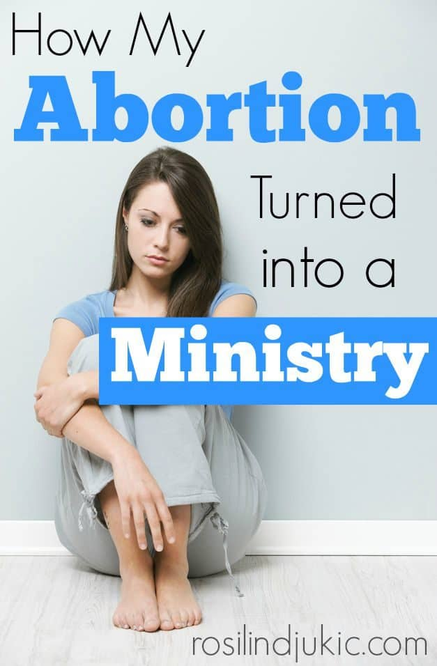 This girl chose abortion, a choice she immediately regretted. After years of emotional battle because of her choice, she turned her sorrow into a ministry.