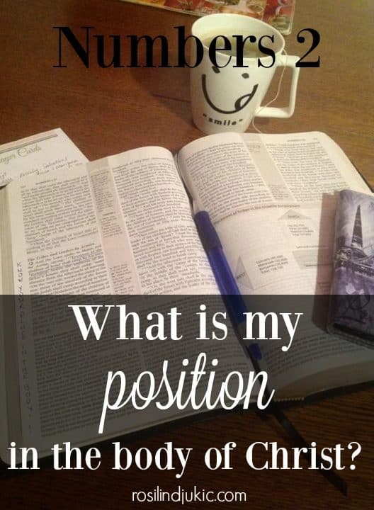 What is my posotion in the body of Christ?