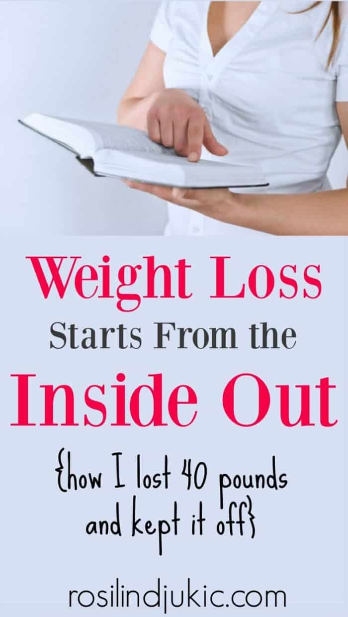 Weight loss has to start from our soul and spirit, otherwise it will never last!