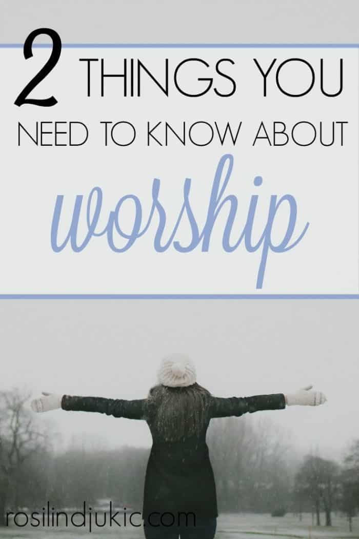 The word worship has been redefined, and even distorted, by this culture. If we are going to truly worship the way God intended, there are two things you need to know.