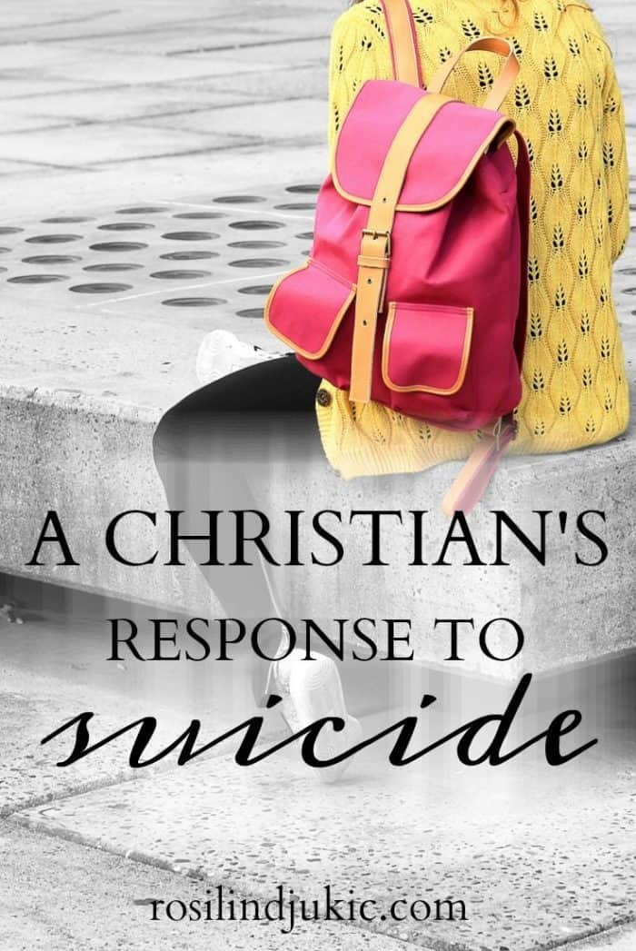 September is suicide prevention awareness month, but what does this mean for Christians? What should a Christian's response be in light of the rising statistics in suicide cases?