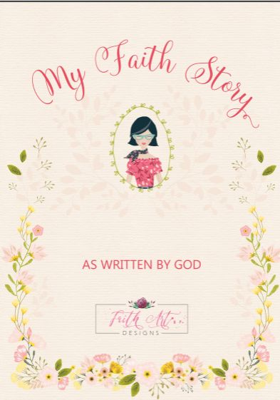 The My Faith Story journal is not only a beautiful journal but a wonderful tool to help leave a godly legacy for your children and build in them a foundation of faith that is lasting!