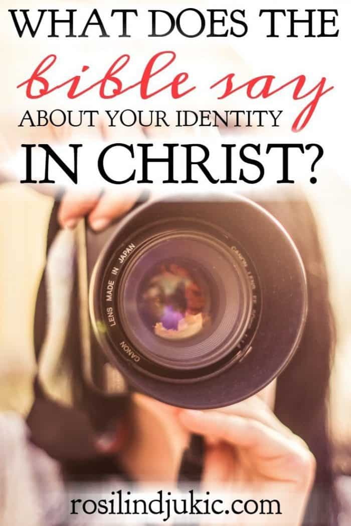 All of life filters through with what or whom we identify. Here is what the Bible says about our identity in Christ and how that identity changes our whole life.