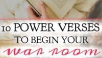 10 Power Verses to Begin Your War Room