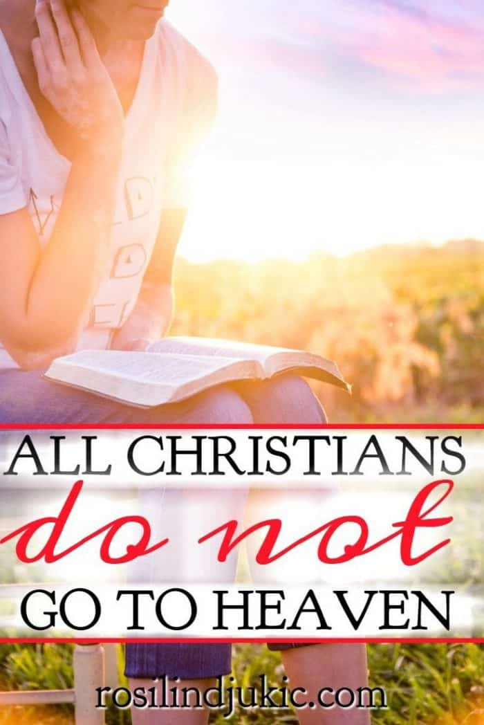 In the gospels we see that not all Christians go to heaven. Here's why, and an clear description of how we can know for sure that we will spend eternity with Christ.