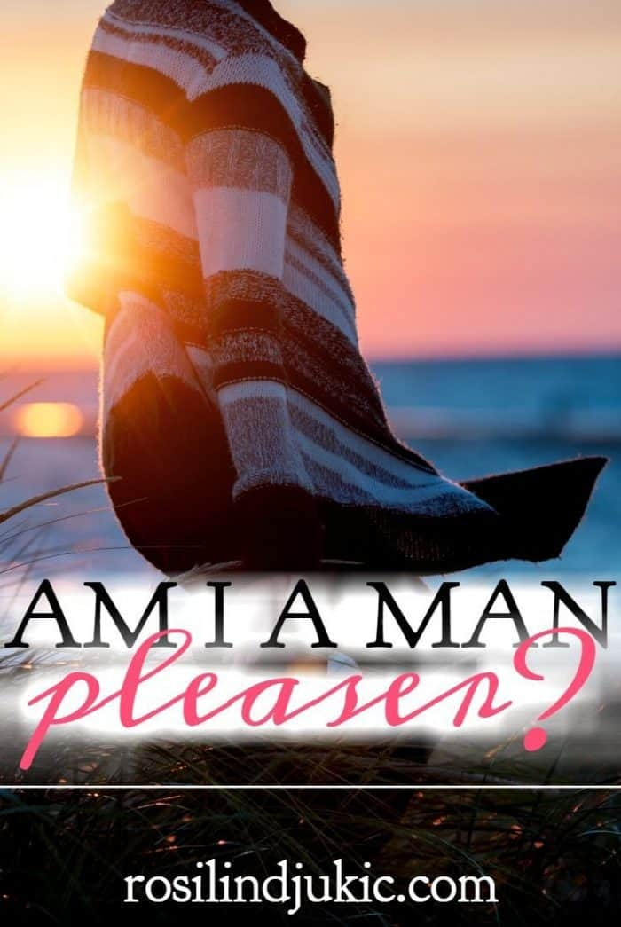 What does it mean to be a man-pleaser and how do we know if we live to please God more than men? I don't think the answer is as easy as we think.