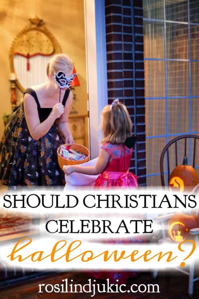 The question arises should Christians celebrate Halloween? Is it celebrating the devil, or is there a way that Christians can use it as an opportunity? #alittlerandr #Halloween #Christians #evangelism #gospel