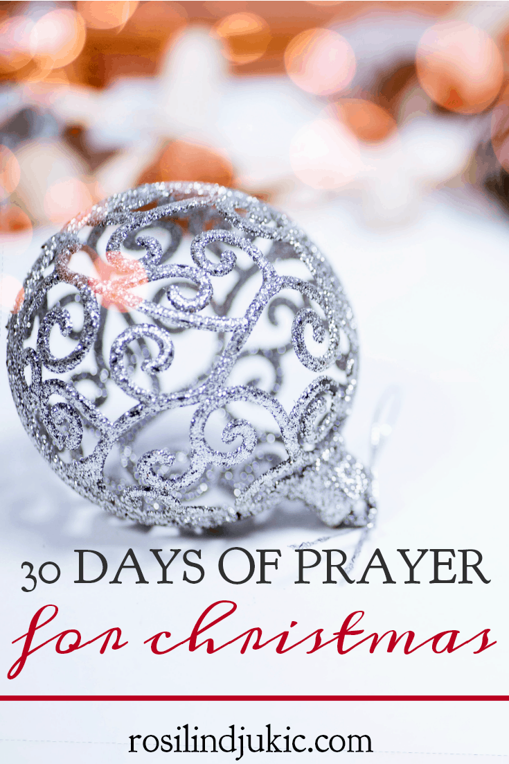 Refuse to allow your heart to become distracted this season. Take the 30 Day Prayer Challenge for Christmas this year and pray through the Christmas story!