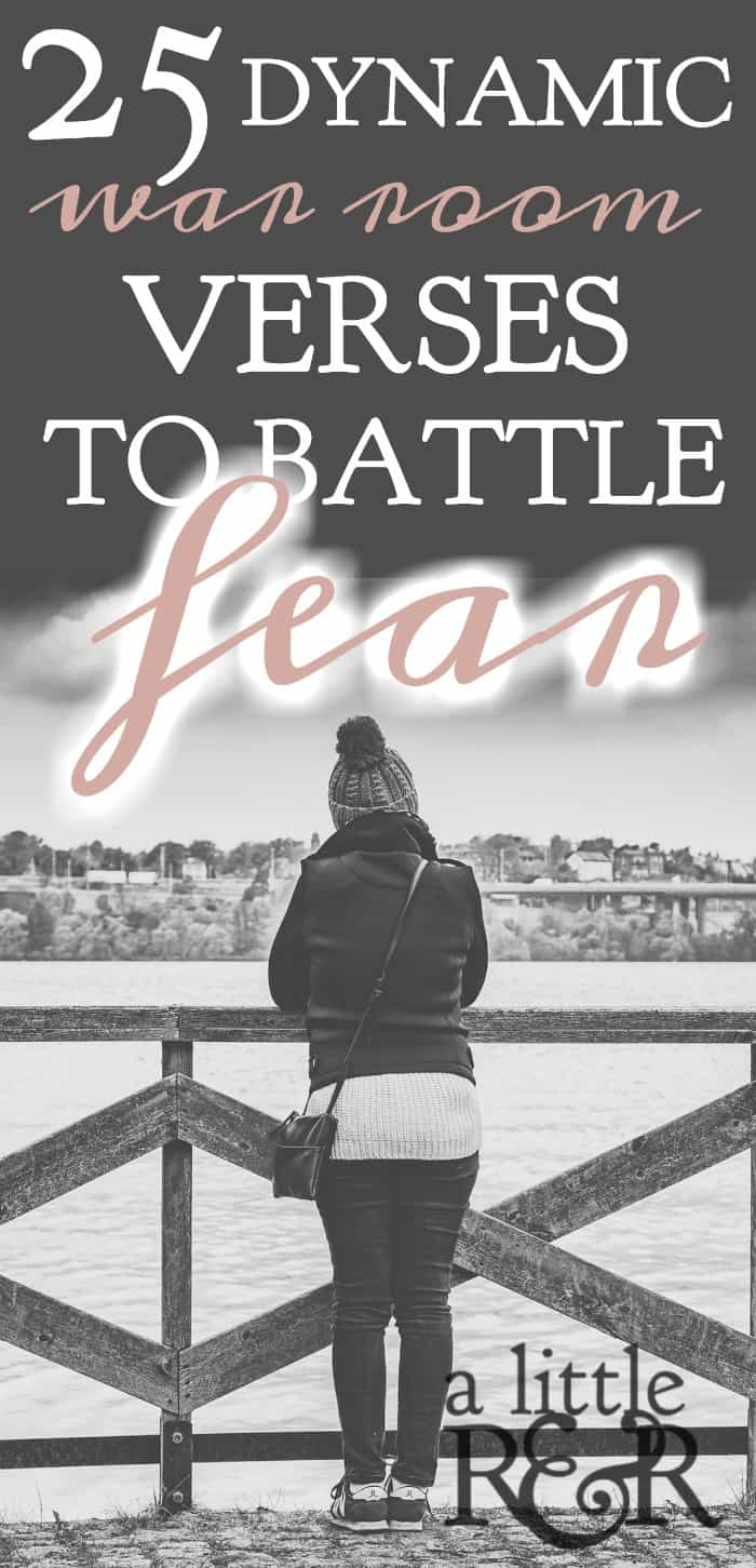 We all battle fear from time to time, here are 25 Bible verses that help to build your faith. A Little R & R | Rosilind Jukić | Christianity | Christian living | Christian blog | Christian faith | Bible Verse | Anxiety | Fear #fear #anxiety #prayer #warroom #warriorprincess #prayerjournaling #Scripture #Christian #Christianliving #spiritual #spiritualgrowth #Bible #God #jesus