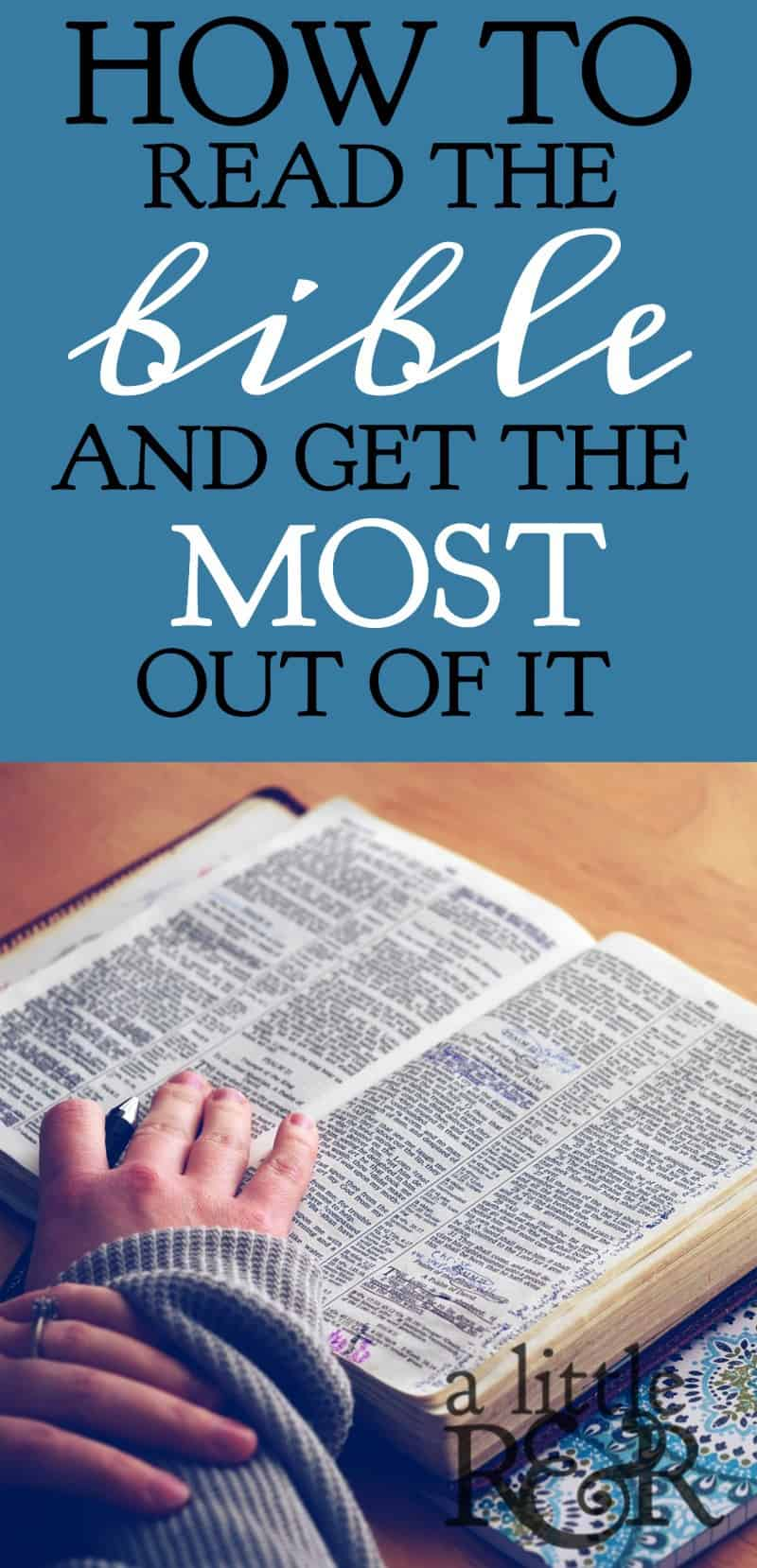 Have you ever wondered where to start reading your Bible? Follow my 4-point plan and learn to read your Bible with confidence! A Little R & R | Rosilind Jukić | Christianity | Christian living | Christian blog | Christian faith | Read the Bible | Quiet Times | #quiettimes #Bible #warroom #warriorprincess #prayerjournaling #Scripture #Christian #Christianliving #spiritual #spiritualgrowth #God #jesus