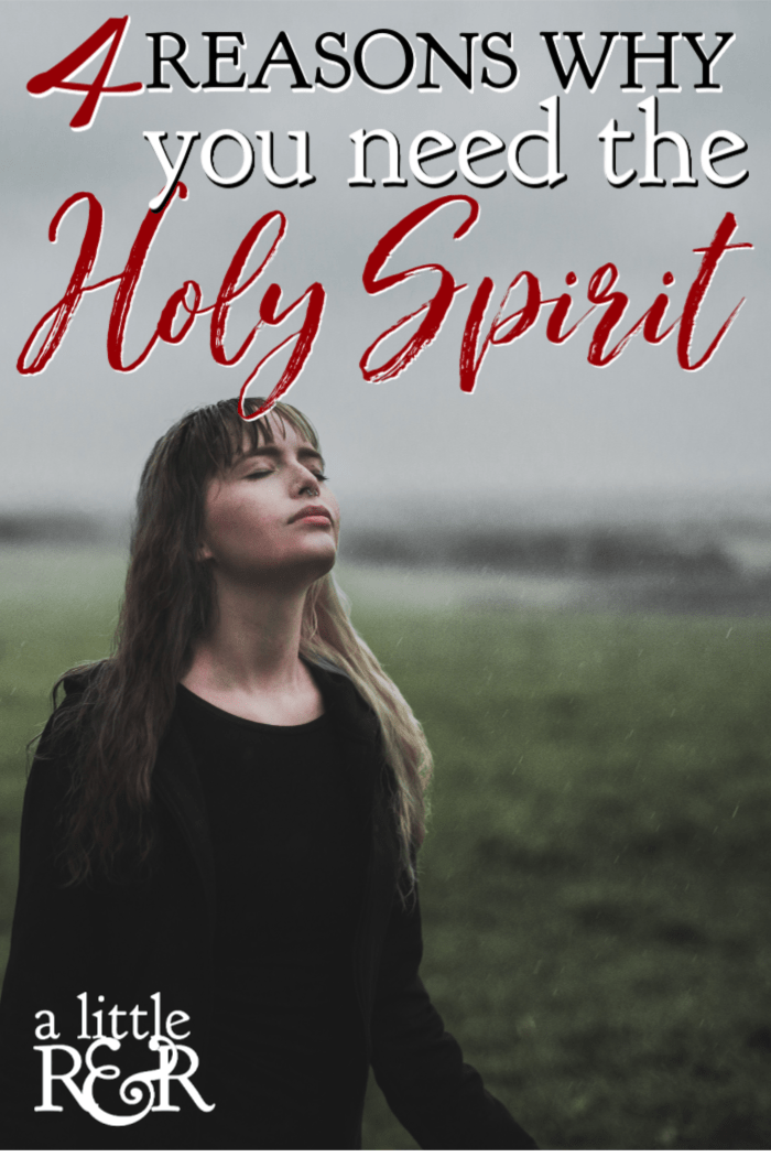During Jesus' final days on earth He promised to send the Holy Spirit as our helper. Here are 4 very important reasons why we need the Holy Spirit. #alittlerandr #HolySpirit #Bible #Jesus #John #OnlineBibleStudy