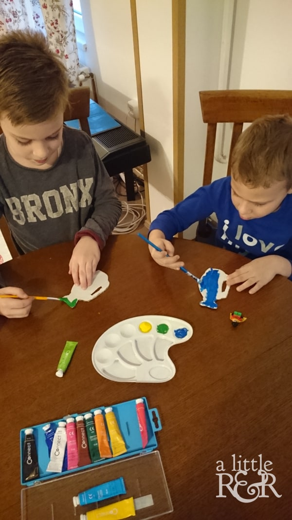 Help your children connect the events of Christmas and Easter by doing this DIY Easter Tree study with them. #alittlerandr #easter #eastertree #easterdiy #eastercraftsforkids